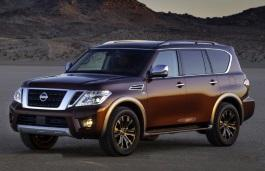 Nissan, Armada, II [2016 .. 2017] Closed Off-Road Vehicle, 5d, AutoDir