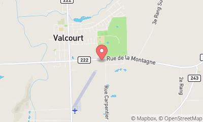 map, Car Dealership Performance NC - Valcourt in Valcourt (QC) | AutoDir