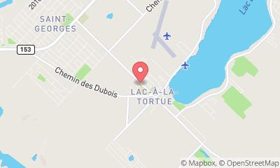 map, Garage Du Lac Inc