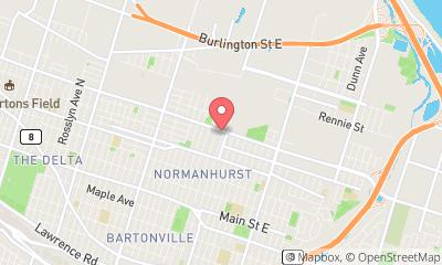 map, Lovely Auto Sales - Used car sales in Hamilton, Ontario, Canada