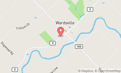 map, Wardsville Signature Tire
