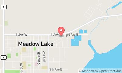 map, Meadow Lake Truck & Trailer Ltd