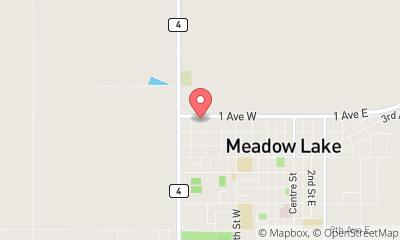 map, Meadow Lake Chrysler