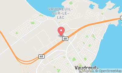 map, Vaudreuil Dodge Jeep Ram - Fiat