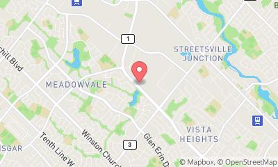 map, Meadowvale Honda