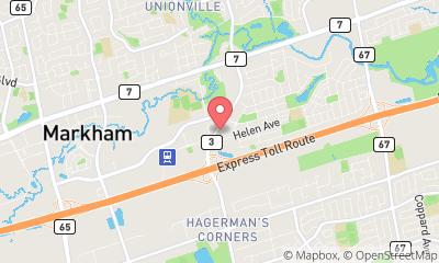 map, MINI Markham