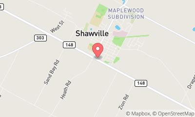 map, Shawville Ford