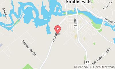 map, Leisure Days RV Center Smiths Falls